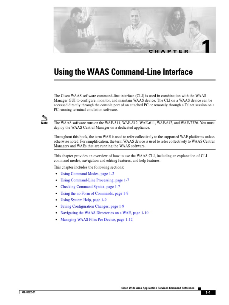 Cisco Waas Command Reference   Command Line Interface (19 views)