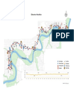 Edmonton marathon route map