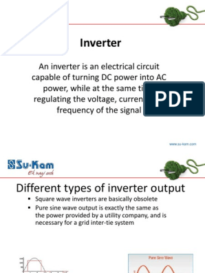Home Inverter Introduction | Power Inverter | Electrical