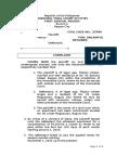 A.a.unlawful Detainer