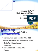 INV Pair Wall Mounted 'D' - R410A
