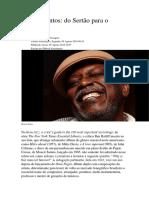 Revista Continente Moacir Santos