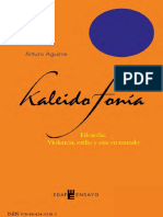 Kaleidophonía. Filosofía Sonora