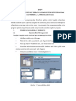 Pembuatan Report Perancangan Sistem Menu Program Dan Pembuatan Program Utama(2)