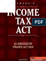 Income Tax Act, 2010