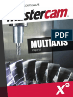 SAMPLE Mastercam X9 Multiaxis Professional Courseware