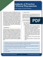 ACCP Standards of Practice