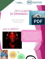 Aborto y Enfemeria