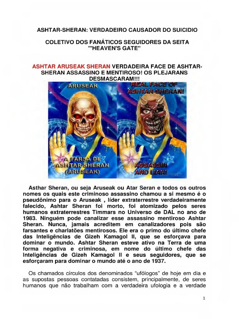 Gabriel Raio Lunar Falso Contatado e a Farsa de Ashtar ...