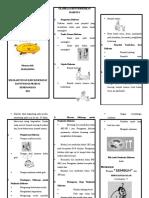 Leaflet olahraga DM