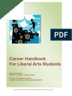 Career Handbook for Liberal Studies Students
