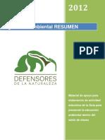 Legislación ambiental RESUMEN