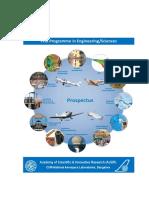 CSIR-NAL-AcSIR PhD Programme in Engineering and Sciences - Prospectus