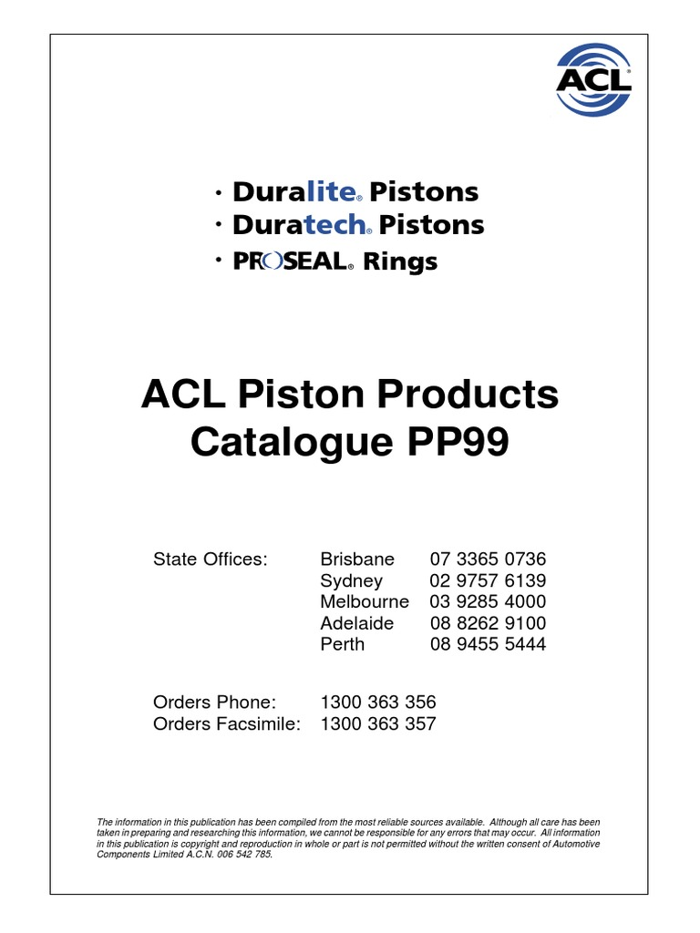 Acl Pistonproducts Pp40   Piston   Cylinder Engine