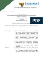 Permen DesaPDTTrans Nomor 9 Tahun 2016 Ttg Pelatihan Masyarakat Salinan