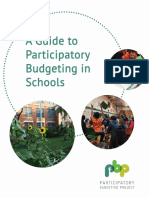 A Guide to Participatory Budgeting in Schools
