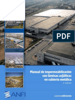 ANFI_Manual de Impermeabilización con Láminas Asfálticas en Cubierta Metálica