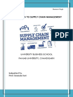 Introduction to Supply Chain Management Pankaj and Ramaneet