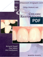 Esthetic Dentistry and Ceramic Restoration , 1ed