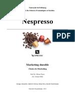 L'entrprise Nespresso