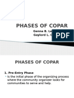 Phases of COPAR