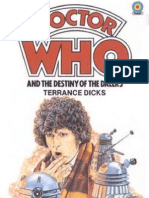 Dr. Who - The Fourth Doctor 21 - Doctor Who and the Destiny of the Daleks