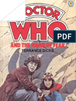 Dr. Who - The Fourth Doctor 30 - Doctor Who and the Hand of Fear