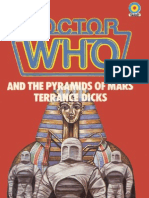 Dr. Who - The Fourth Doctor 50 - Doctor Who and the Pyramids of Mars