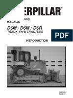 Tractor d5m - d6r - Cat
