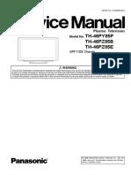 TH-46PZ85E Service Manual.pdf