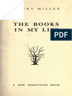 henry miller the books in my life pdf
