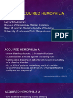 Acquired Hemophilia