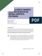 Tecnica_direta-Indireta Resina Composta