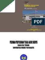 Pedoman Tas Ft Uny 2013 Lengkap