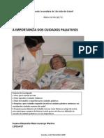 Susana Martins - A importância dos cuidados paliativos