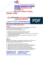 2016 Braindump2go 1Z0-060 Exam Dumps 161Q&as 1-10