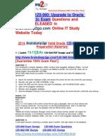 2016 Braindump2go 1Z0-060 Exam Questions 161Q&as 11-20
