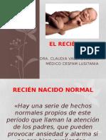 El Recién Nacido Normal