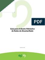 Guía Para El Diseño Hidráulico de Redes de Alcantarillado