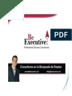BeExecutive-¿Como Negociar El Sueldo Feria de Empleo Ejecutiva Wtc