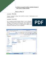 Actividad 11. ePortfolio. Carta de presentación Web 2.0. Redes Sociales