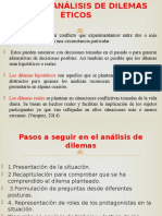 ANÁLISIS DE DILEMAS ÉTICOS