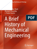 ( ) a Brief History of Mechanical Engineering