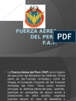 Fuerza Aérea Del Perú DIAPOSITIVAS