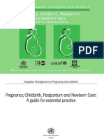 pregnancy childbirth postpartum and newborn care 2003  outdated