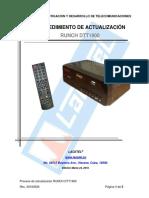 Procedimiento de Actualizacion RUNCH DTT1900