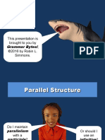 parallel structure powerpoint