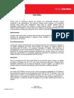 Ficha Técnica Tintas Caltex 820
