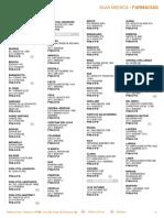 Farmacias Ciudad Autonoma de Bsas y Gba