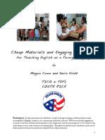 Cheap Materials Engaging Activities